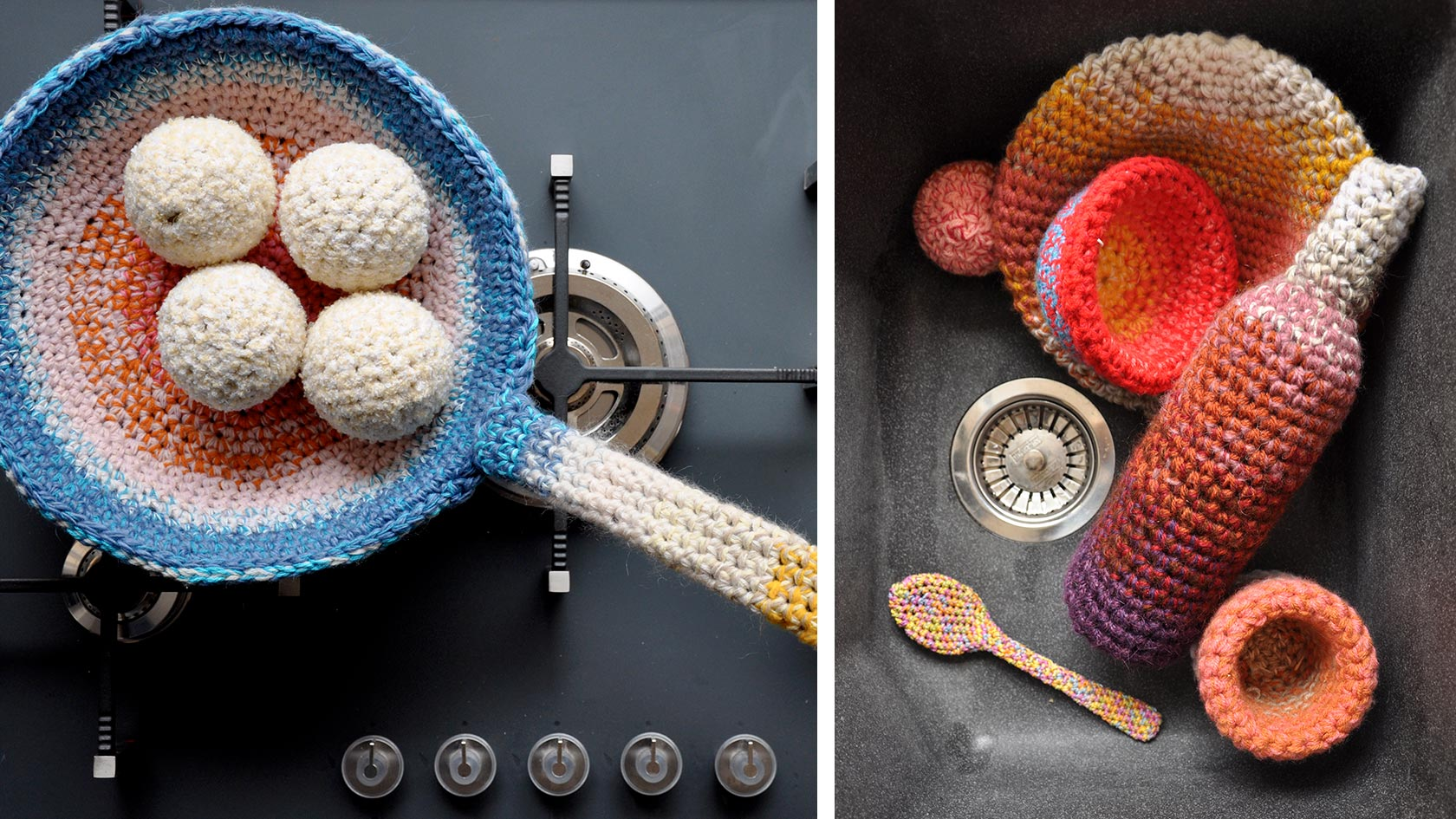 Crochet cooking