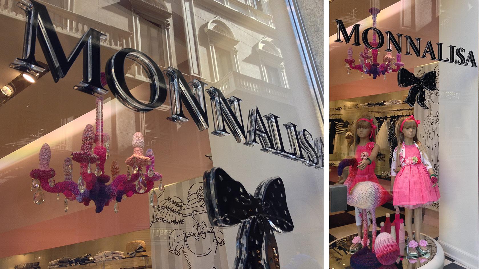 Monnalisa – via della Spiga Milano