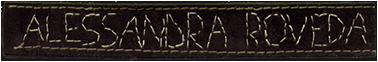 Alessandra Roveda Logo